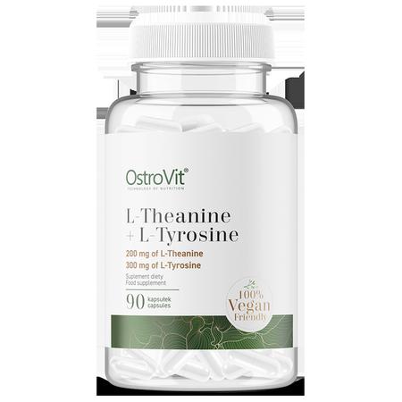 OstroVit L-Theanine + L-Tyrosine VEGE 90 caps
