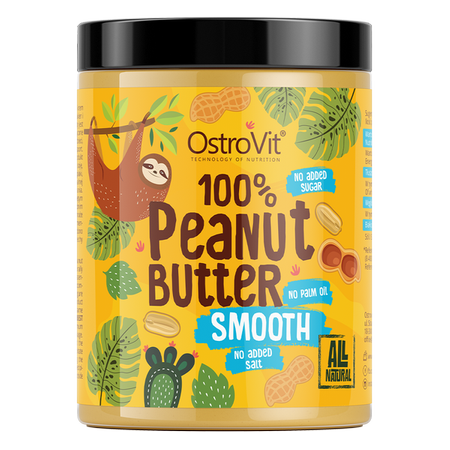 OstroVit Peanut Butter 100% Smooth 1000 g